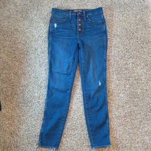 """Madewell 10"""" high-rise jeans!"""